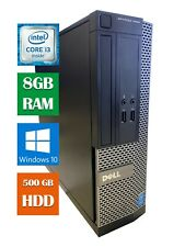 Dell Optiplex 3020 SFF  i3-4150 3.5GHz (8GB, 500GB HDD, WIndows 10 Pro)