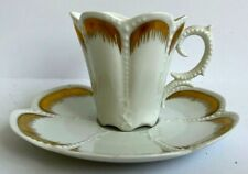 Antique Limoges Coffe Cup & Saucer Made For Lord & Taylor