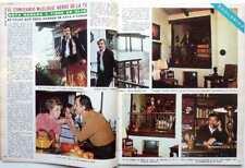 ROCK HUDSON => COUPURE DE PRESSE Espagne 2 pages 1974 / SPANISH CLIPPING
