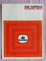 Kino # Verleihprogramm # Verleihstaffel # Team Filmverleih # Jahrgang 1966/67