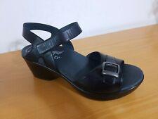 Dansko Jamey With Metatarsal Support Black Sandal - NEW - Choose Size