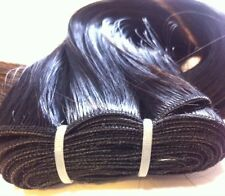 """16"""" Weft/weaving Hair Extension Color black #1 Heat Styling Synthetic"""
