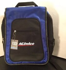 ACDelco Single Strap Backpack - Black / Blue - NEW - Books - Laptop - AC Delco
