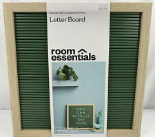 """Room Essentials Office Letter Board 12""""x 12"""" with Letters and Numbers Green"""