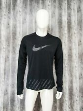 NIKE Running Dry  Fit Long Sleeve Sport Top Shirt Size M
