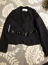 Xhilaration Girls black dress Jacket blazer sz S