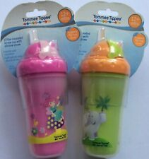 Tommee Tippee 270ml cup with Insulated Silicone Straw Colour Variations