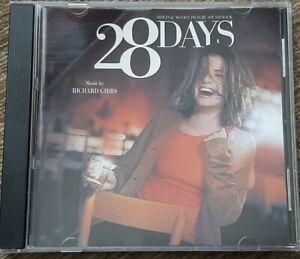 28 DAYS CD SOUNDTRACK - RICHARD GIBBS - VARESE - SANDRA BULLOCK FILM