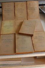 ENTOMOLOGIE insectes / oeuvres de MARCEL ROLAND en 10 volumes -Mercure de france