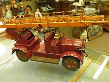 Großer 42cm Feuerwehr Karl Bub 1920 Leiterwagen feiner Sammler zustand