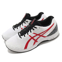 Asics Lyteracer 3 2E Wide White Red Black Men Running Jogging Shoes 1011B023-100