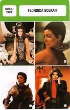 FICHE CINEMA :  FLORINDA BOLKAN -  Brésil (Biographie/Filmographie)