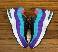 """New Nike Air Max 95 Youth Running Shoes """"Blue Lagoon"""" (AV2289-300) Size 7Y"""