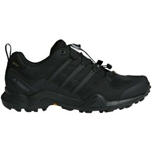 Adidas Men's Terrex Swift R2 GTX Hiking Trail Black Shoes Waterproof - CM7492