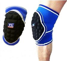 Large Knee Pad Supports Brace Sports Handball Goalkeeper Football Proctector L