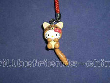 Hello Kitty Procyon lotor Ringtail Racoon Coon Mobile Cell Phone Charm Pendant