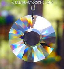 Swarovski Clear 40mm Sun Disk Energy Gate Feng Shui Sun Catcher Ready to Hang