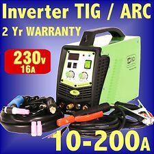 SIP 05269 p208hf inverter 160 amp tig arc soudeur 230V Générateur sécurité soudage dc