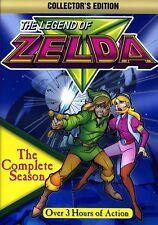 Legend of Zelda: The Complete Season [3 Discs] [Collector's Edition] (DVD New)