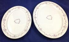 "Syracuse ARCADIA 12"" and 14"" Serving Platters LIGHT USE"