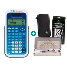 Ti 34 Multiview calculadora + funda protectora y geometrieset