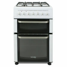 MontpellierTDF60W 600mm Twin Cavity Dual Fuel Oven & Grill White