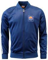 Ellesse Men's Track Top Jacket Blue Jaynefi New