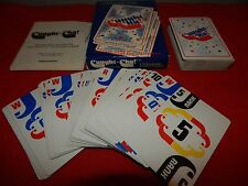 Vintage Caught Cha Fast-Action Card Game of Bluff and Excitement! Card deck