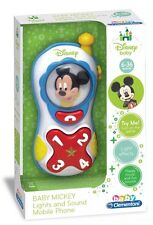 Disney Baby Baby Minnie Lights and Sounds Mobile Phone Cute Toys Kids Fun