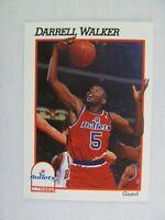 Darrell Walker Washington Bullets 1991 NBA Hoops Basketball Card 219