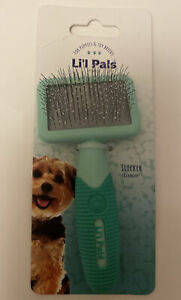 Li'l Pals - Dog Slicker Brush with Coated Tips - For  Puppies & Toy Breeds