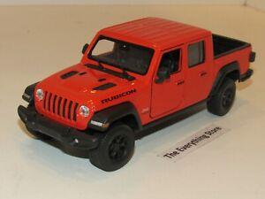 Modelo a escala jeep Warengler en escala 1:36 amarillo