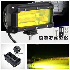 "1X CREE 72W 5"" Flood LED Light Bar Work Offroad Driving Lamp 4WD Boat SUV ATV"