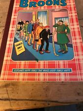 The Broons Annual 1981 published by DC Thomson, paperback vintage book comic