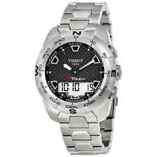 Tissot T-Touch Expert Brushed Titanium Analog/Digital Men's Watch