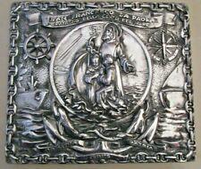 San Francesco Da Paola Plate / Plaque - Rare (2185)