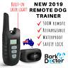BARK DOCTOR 500M REMOTE 2 DOG TRAINER e-COLLAR LASER LIGHT SOUND VIBRATION  MODE