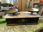 Antique  Pharmacy Scale  with Marble Top