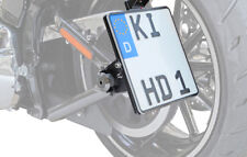 Kennzeichenhalter seitlich 200x200mm TÜV Harley Davidson FatBoy FLFB FLFBS 2018-