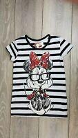 Disney Minnie Mouse Love Couple Tee Top  Juniors Girls T-Shirt 13 XLG A132-12