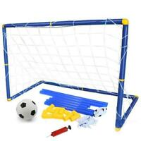 Portable Removable Football Gate Soccer Kids Outdoor Play Training Net Set Toys