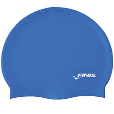 FINIS Silicone Swim Cap - Blue