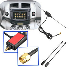 5ft In Car Radio Digital DVB-T ISDB-T TV Signal 6dBi Antenna 433MHZ + Amplifier