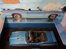 GMP 1970 Pontiac GTO The Judge Convertible 1:18 Scale Diecast Model Car LE 8047