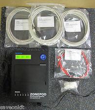 Jacarta ZP01UK 6-Port Sensor ZonePod, Environment Alarm System, P/n 1901183042