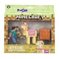 Minecraft Steeve With Llama Pack Series 4 Action Figure
