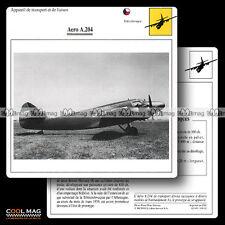 #109.02 AERO A 204 - Fiche Avion Airplane Card