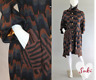 sold out CUSTO BARCELONA brown navy black gray PRINCESS COAT wool blend JACKET 2