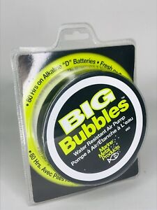 Marine Metal Products Big Bubbles Water Resistant Air Pump 80 Hours New Sealed