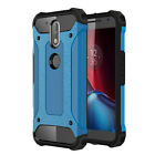 For Motorola G4/G4plus Premium Shockproof Hybrid Armor Tough Hard Case Cover